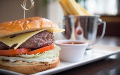 Delicious Burger At Maldron Hotel Portlaoise